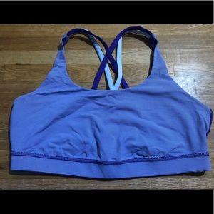 Lululemon Energy Bra Purple Size 12